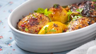 Chicken with Red Grapes Recipe