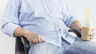 Belly Fat Is Worst for Well-Being in Older Men