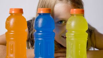 Keep Kids Away From Sports Drinks