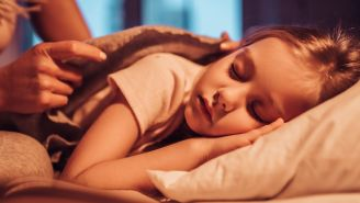 Dim the Lights to Better Your Child's Sleep Habits