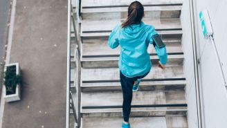 Take the Stairs to Boost Your Cardio Regimen