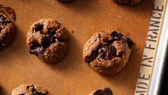 Chocolate Chunk and Nut Chewies