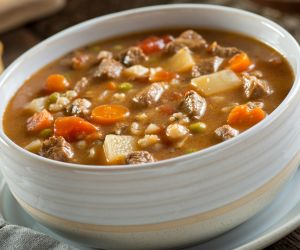Anti-Inflammatory Recipe: Hulled Barley Vegetable Soup