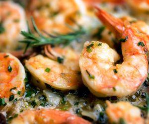 Anti-Inflammatory Recipe: Jumbo Shrimp and Grilled Greek Garlic