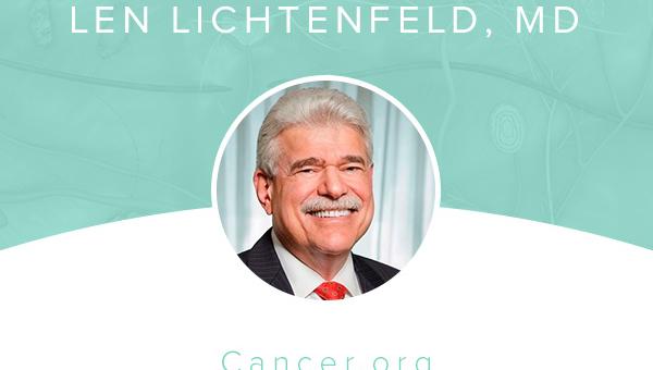 Len Lichtenfeld, MD