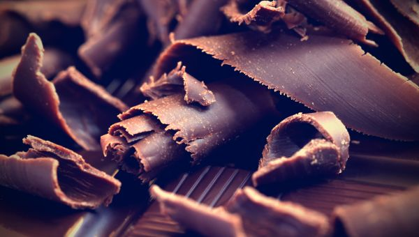 Repair skin while indulging with dark chocolate