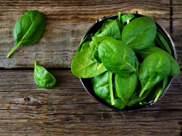 Load Up on Spinach