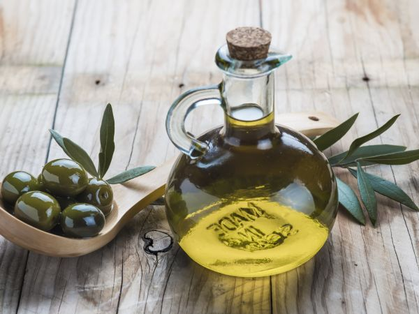 Drizzle on Extra-Virgin Olive Oil
