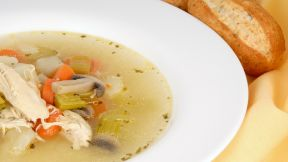 Ultimate Chicken Soup Does Wonders for Common Cold
