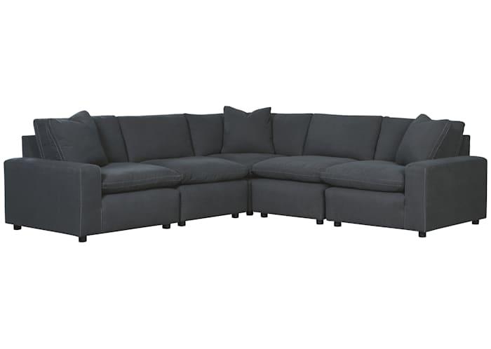 Savesto 5 Piece Modular Sectional, Ashley Furniture Sectional Sofas Canada