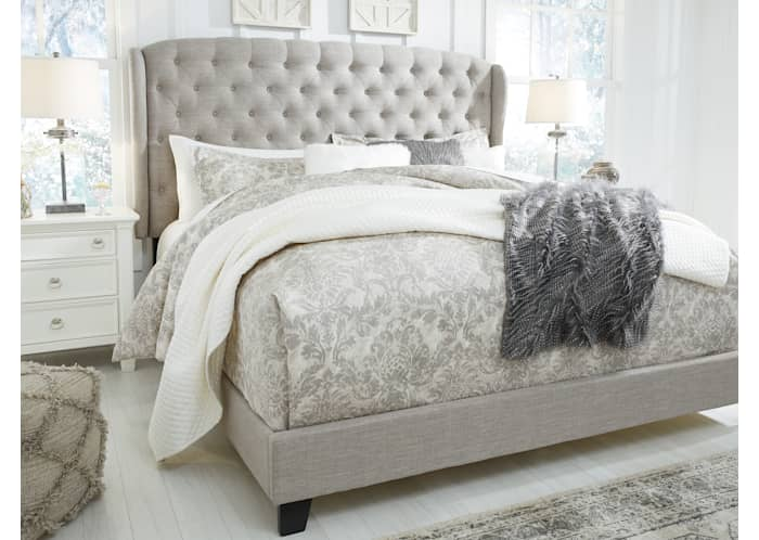 Jerary Upholstered Bed Ashley, Ashley Furniture Tufted Bed