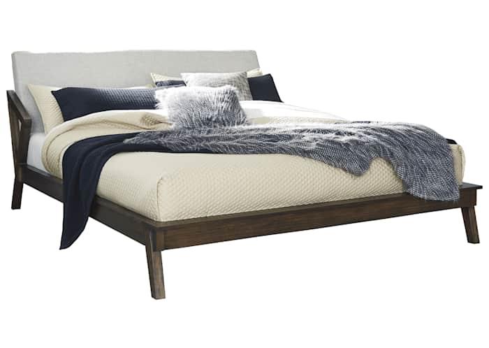 Kisper 3 Piece Platform Bed Ashley, Ashley Queen Size Bed Frame