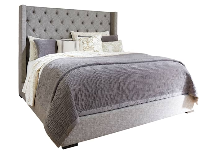 Sorinella Exclusive 3 Piece Upholstered, King Bed Ashley Furniture