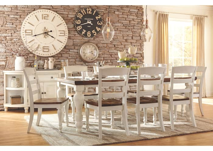 Marsilona Exclusive Dining Table, Ashley Furniture Dining Room Table
