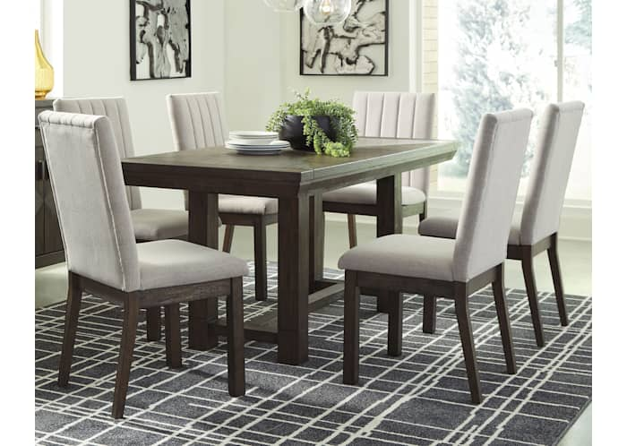 Dellbeck Rectangular Dining Room Table, Ashley Furniture Dining Room Table