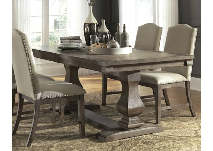 Johnelle Exclusive Extension Dining, Ashley Furniture Dining Room Table
