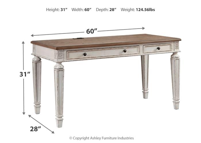 Realyn Desk Ashley Home Canada, How To Install Ashley Furniture Legs