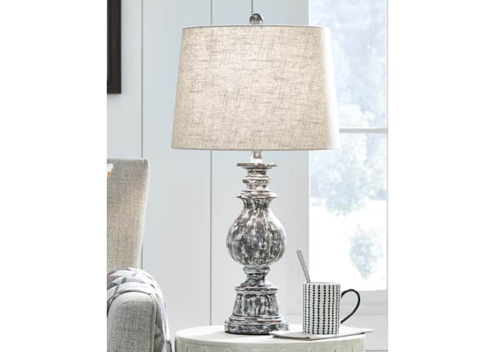 Macawi Table Lamp Pair Ashley, Girly Table Lamps