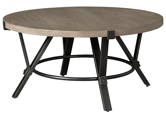 Zontini Round Tail Table Ashley, Round Coffee Table Ashley Furniture Canada