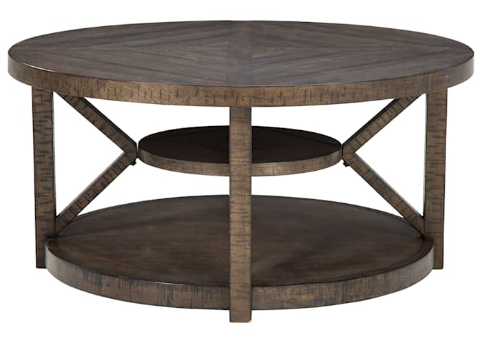 Braunsen Round Tail Table Ashley, Round Coffee Table Ashley Furniture Canada