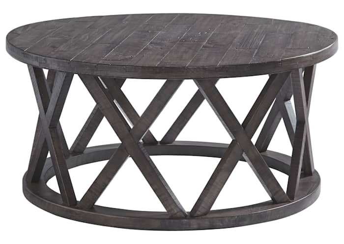Sharzane Round Tail Table Ashley, Round Coffee Table Ashley Furniture Canada