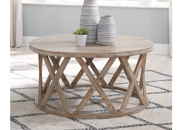 Glasslore Round Tail Table Ashley, Wayfair Round Coffee Table