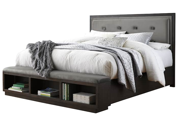 Hyndell 3 Piece Storage Bed Ashley, King Storage Bed Frame Canada