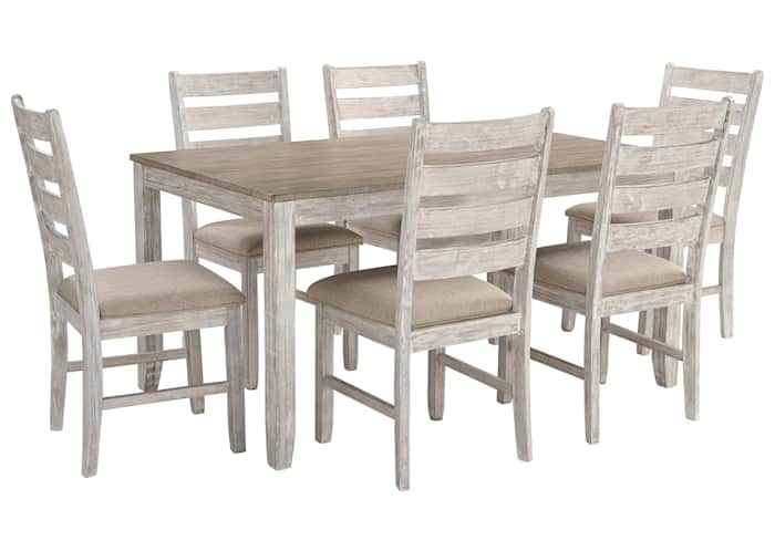 Skempton Dining Room Table Set 7 Cn, Dining Room Table And Chairs