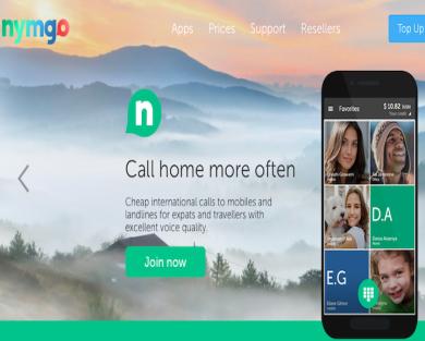 Nymgo - You get $5 USD free Credit.