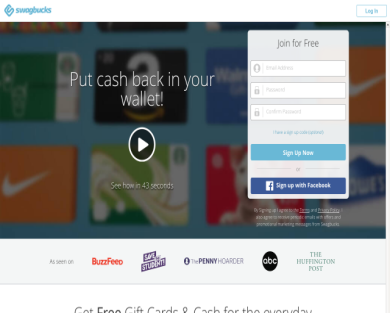 10% earnings on swagbucks
