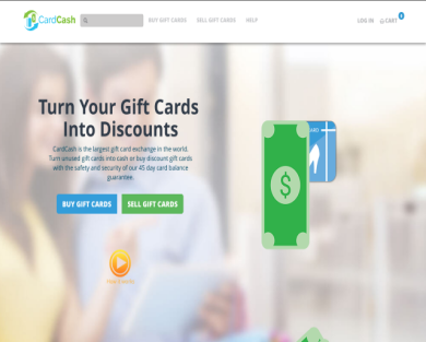 Get $5 discount Cardcash using my referral link
