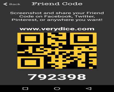 Use 792398 and get 50 Free rolls on Verydice with this code!!