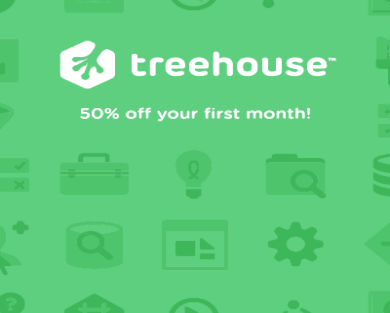 Get 50% off your first month!