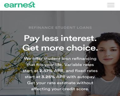 Get $200 when refinancing with Earnest