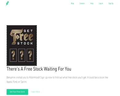 Free Stock from Robinhood!