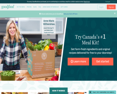 $40 off your first order with GoodFood
