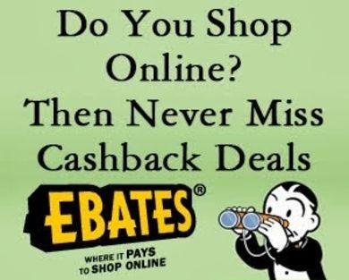 Ebay coupon code for April 2017 redemption via Ebates + $10 sign-up bonus