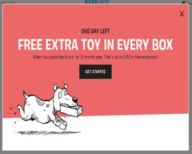 Free BarkBox using this link!
