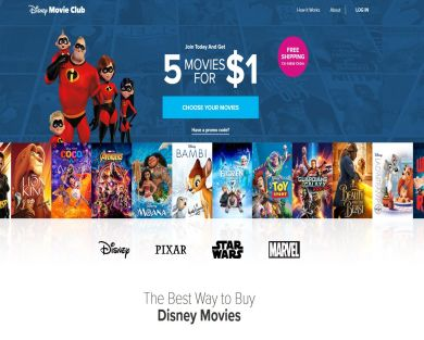 Disney Movie Club Refer a Friend