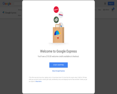 Get $10 to spend on Google Express . Also get $40 coupon for $15 from groupon or livingsocial