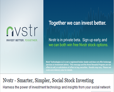 $5 for signing up and chance for company stocks