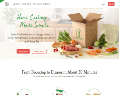 Get $30 Home Chef credit!