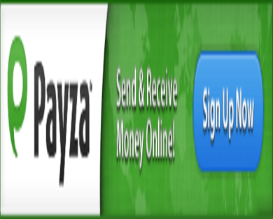 Get your FREE account with Payza ($10 credit) Referral Program