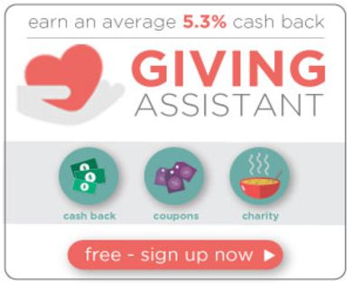 Get $5 sign up bonus on Giving Assistant!
