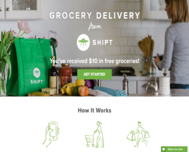 $10 When You Sign Up for Shipt Grocery Delivery