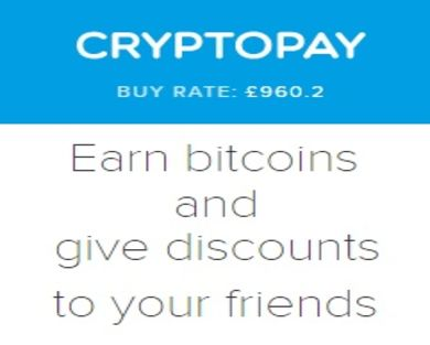 Earn Bitcoins (BTC) using your Referral Link.