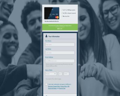 30$ bonus on Mastercard credit card - Student friendly
