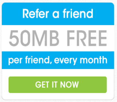 Get 50 MB Data on Freedompop Using my referral Link