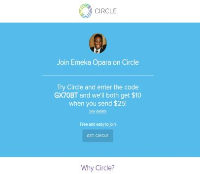 Get $15 for using my link. Plus if you refer someone else with my link, you get another $10.