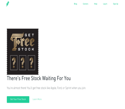 Join Robinhood and get a FREE stock (such as Apple, Microsoft, Facebook, GE etc)